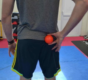 Upper gluteal trigger point to relieve buttock pain and bum muscle pain