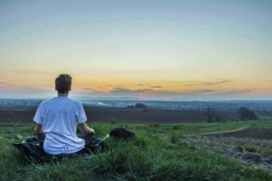 Meditation can reduce emotional stress and sciatica by calming you down