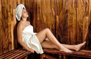 Find a sauna for emotional stress and sciatica relief through the de-stress and heating effects