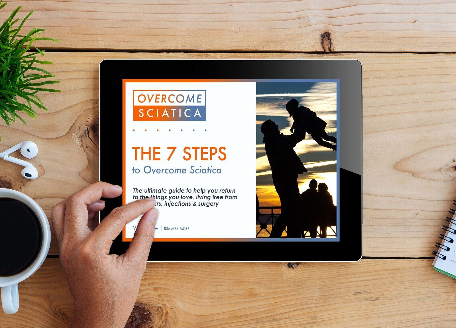 The 7 Steps to overcome sciatica sciatica pain relief