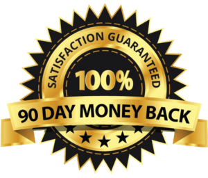 90 days money back guarantee with total recovery program for sciatica pain relief